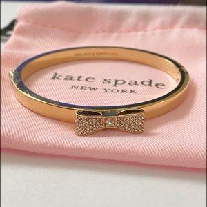 NEW! Kate spade crystal bow bangle